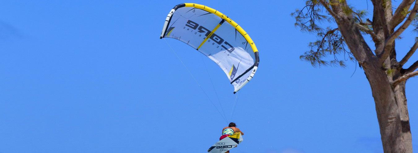 Kiteboarding Mauritius Jump