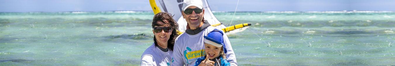Oliver Zaenkert mit Fam